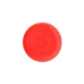 SC1-09/RD Πιατάκι πορσελάνης για φλυτζάνι 90cc, κόκκινο, LUKANDA