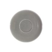 SC1-38/DGR Πιατάκι πορσελάνης για φλυτζάνι 380cc, σκούρο γκρι, LUKANDA