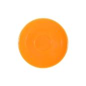 SC1-28/OR Πιατάκι πορσελάνης για φλυτζάνι 280cc, πορτοκαλί, LUKANDA