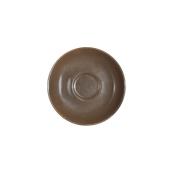 SC1-09/BR Πιατάκι πορσελάνης για φλυτζάνι 90cc, καφέ, LUKANDA