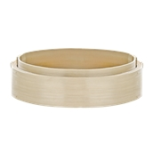 209bbdim30 Δοχείο από Bamboo Φ30x6cm