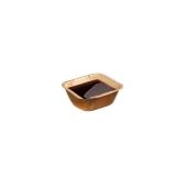 210BBB671 DIP Τετράγωνο 6,3x6,3x3cm, από φοινικόφυλλο