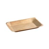 210BBA2416 Πιάτο παραλληλόγραμμο 24x16x2,5cm, από φοινικόφυλλο