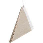 210SFRITTOLO28 Κώνος σερβιρίσματος 1260ml, 28cm, χάρτινος, λευκός στο εσωτερικό