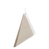 210SFRITTOLO20 Κώνος σερβιρίσματος 660ml, 20cm, χάρτινος, λευκός στο εσωτερικό