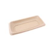 PUL400408D300 Δίσκος ζαχαροκάλαμου για Σαντουιτς, Τοστ, 20x10cm, Sabert