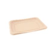 PUL400608D300 Δίσκος ζαχαροκάλαμου για Σαντουιτς, Snack, Burger, Τοστ, 20x14cm, Sabert