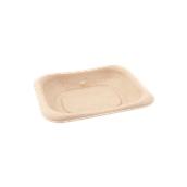 PUL404555D Δίσκος ζαχαροκάλαμου για Σαντουιτς, Snack, Burger, Τοστ, 14x11cm, Sabert