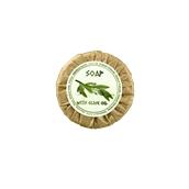 AM-112 Σαπούνι ελαιόλαδου στρογγυλό 20γρ, οικολογικό περιτύλιγμα - Olive Tree