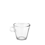 T05011 Γυάλινο Φλυτζάνι Cappuccino, 22,5cl, Φ9,3 x 6,5cm, Σειρά NADIA, CERVE Ιταλίας