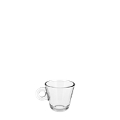 T04980 Γυάλινο Φλυτζάνι Espresso, 7,5cl, Φ6,4x5,2cm, Σειρά NADIA, CERVE Ιταλίας