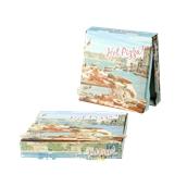 30x30x4.2 /HOTPIZZA Κουτί Πίτσας Μικροβέλε HOT-PIZZA (VENICE), 30x30x4.2cm