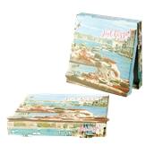 36x36x4.2 /HOTPIZZA Κουτί Πίτσας Μικροβέλε HOT-PIZZA (VENICE), 36x36x4.2cm