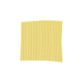 TRC90-075075-GD Τραπεζομάντηλο από ύφασμα 90gr/m2, 75x75cm, χρυσαφί ριγέ