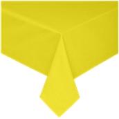 TCA145-150150-YE Τραπεζομάντηλο από αδιάβροχο, αλέκιαστο ύφασμα, 145gr/m2, 150x150cm, κίτρινο