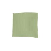 TRC90-075075-GN Τραπεζομάντηλο από ύφασμα 90gr/m2, 75x75cm, πράσινο ριγέ