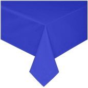 TCA145-150150-BL Τραπεζομάντηλο από αδιάβροχο, αλέκιαστο ύφασμα, 145gr/m2, 150x150cm, μπλε