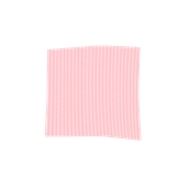 TRC90-075075-PK Τραπεζομάντηλο από ύφασμα 90gr/m2, 75x75cm, ρόζ ριγέ