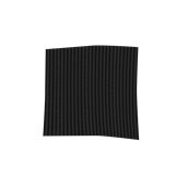 TRC90-075075-BK Τραπεζομάντηλο από ύφασμα 90gr/m2, 75x75cm, μαύρο ριγέ