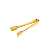 TNG-GD611 Λαβίδα Πάγου No2, 17cm, PVD χρυσή, Ελληνικής κατασκευής