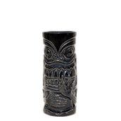 SMOKER-44/BK Κούπα Tiki 44cl, φ7.3x17cm, μαύρη, Πορσελάνης, Ελληνικής κατασκευής