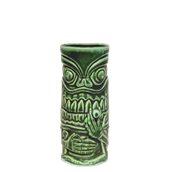 SMOKER-44/GN Κούπα Tiki 44cl, φ7.3x17cm, πράσινη, Πορσελάνης, Ελληνικής κατασκευής