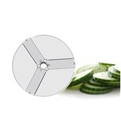 280096 Δίσκος ανοξείδωτος κοπής σε φέτες πάχους 1mm, HENDI