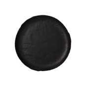VU000290779 Πιάτο Ρηχό Πορσελάνης Φ28cm, Σειρά VULCANIA, μαύρο, TOGNANA