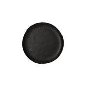 VU002210779 Πιάτο Ρηχό Πορσελάνης Φ21cm, Σειρά VULCANIA, μαύρο, TOGNANA