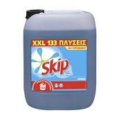 SKIP-7518802 /10LT Υγρό απορρυπαντικό πλυντηρίων ρούχων 10lt, 133 πλύσεις, Active Clean, με TAED, SKIP