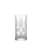 51500 Γυάλινο Ποτήρι Σκαλιστό Κοκτέιλ, 33,5cl, φ7,0 x 14,8 cm, Σειρά ROYAL, UNIGLASS