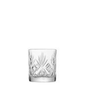 53500 Γυάλινο Ποτήρι Σκαλιστό Χαμηλό, 30,5cl, φ8,1 x 9,2 cm, Σειρά ROYAL, UNIGLASS
