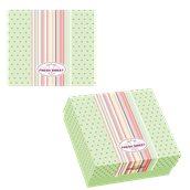 025.13.001 Κουτί ζαχαροπλαστικής μεταλιζέ FRESH No 10, 22x22x8cm