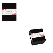 025.02.001 Κουτί ζαχαροπλαστικής μεταλιζέ Νο 2, 9,5x13x7cm