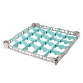 BDE-25/GREY Προέκταση Μπασκέτας Πλυντηρίου με 25 χωρίσματα 50x50x4cm, Plast Port