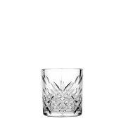 TIMELESS-DOF/34,5CL Γυάλινο Ποτήρι Σκαλιστό Χαμηλό, 34,5cl, φ8.5x9.6cm, PASABAHCE