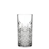 TIMELESS-HB/45CL Γυάλινο Ποτήρι Σκαλιστό Σωλήνας, 45cl, φ7.7x16.1cm, PASABAHCE