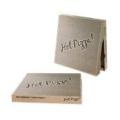 33x33x4.2 /KRAFT-HOT Κουτί Πίτσας Μικροβέλε KRAFT HOT-PIZZA, 33x33x4.2cm