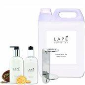 LAPE-S1-100934576 ΣΕΤ Δώρο 1 μονή βάση με 1x5Lt+2x300ml Λοσιόν, με ανατολίτικο άρωμα λεμόνι & τσάι, Lape
