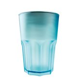 3763-73F Πλαστικό ποτήρι SAN πισίνας 42cl τιρκουάζ