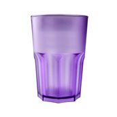 3763-72F Πλαστικό ποτήρι SAN πισίνας 42cl λιλά