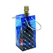 IB.17800 L'original ICEBAG, για 1 μπουκάλι, 11+11x25.5cm, BLUE, made in France