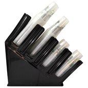 CLPCS-04B Πλαστική θήκη 4Θ, για ποτήρια και καπάκια, 48.5x11.5x45.5cm, μαύρη