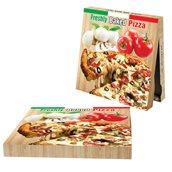 40x40x4.2 /FRESHLY Κουτί Πίτσας Μικροβέλε FRESHLY, 40x40x4.2cm