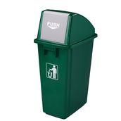 GW-G512A Κάδος πλαστικός πράσινος 58 λίτρων.