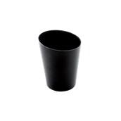 6023-19 Πλαστικό ποτηράκι - μπωλάκι FINGER FOOD PS 120cc μαύρο