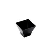 6020-19 Πλαστικό μπωλάκι - παγόδα PS 65cc μαύρο