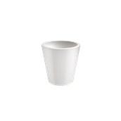 VA315-D00450-000 Γλάστρα πλαστική 45x45cm λευκή Rotational Ιταλίας