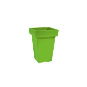 VA308-H00Q40-076 Κασπώ / Βάζο πλαστικό 30x30x40cm πράσινο μήλου Rotational Ιταλίας