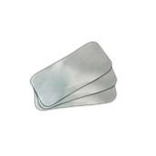 LID-162 Πακέτο 100 καπάκια μεταλιζέ για ταψάκι αλουμινίου R1-62L - R-54L